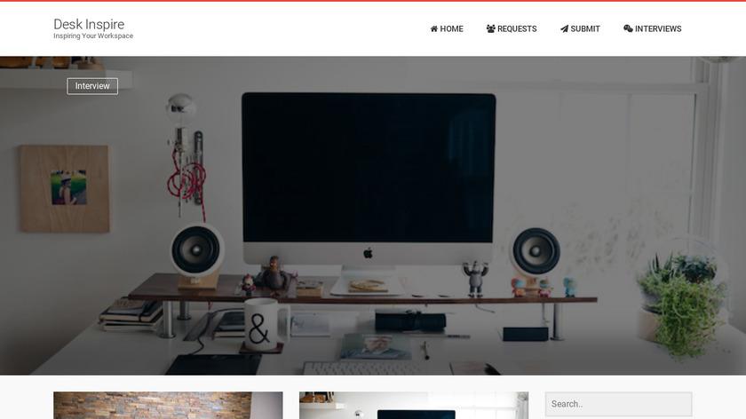 Desk Inspire Landing Page