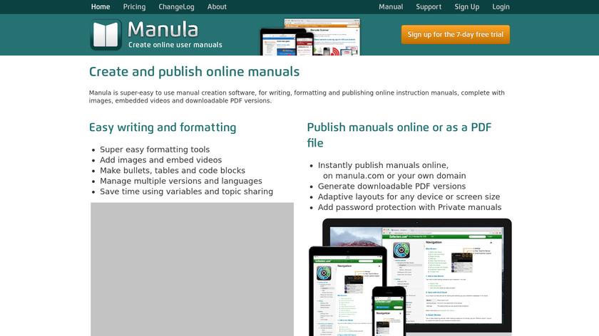 Manula Landing Page