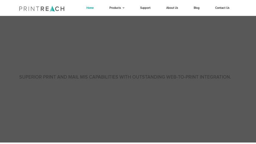 Mail-Shop Landing Page