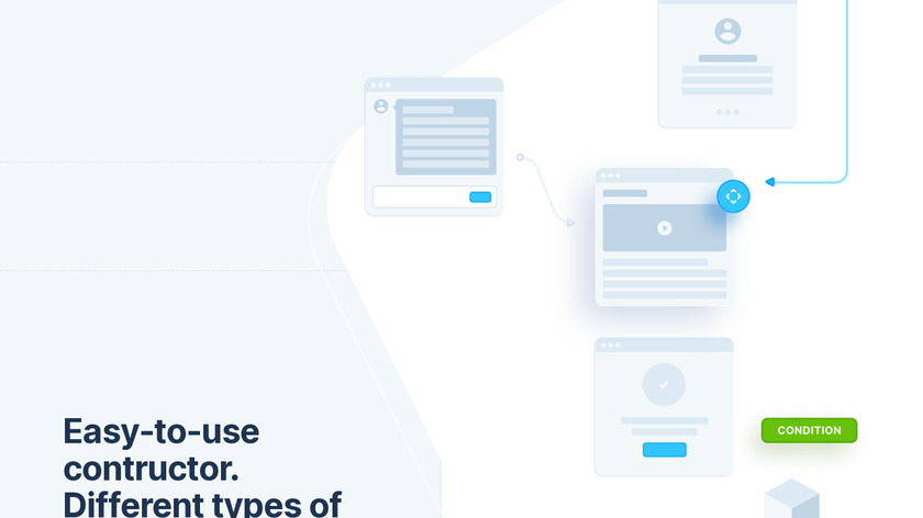 UX Flow Wireframe Prototyping System Landing Page