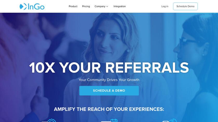 InGo Landing Page