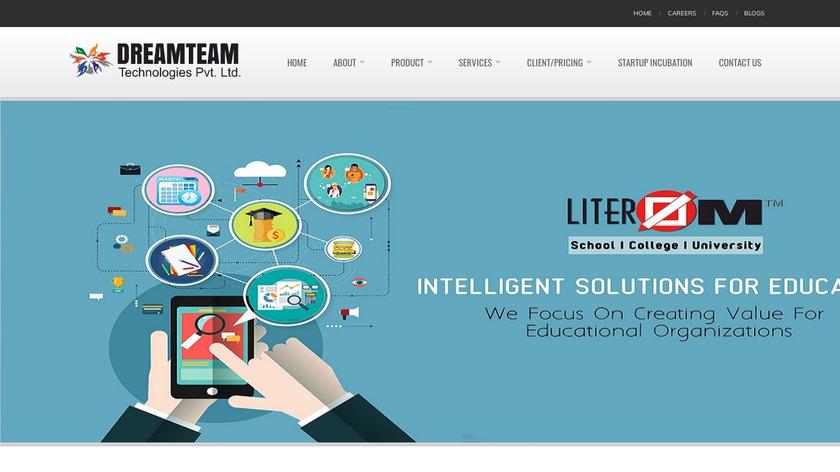 LITEROM Landing Page