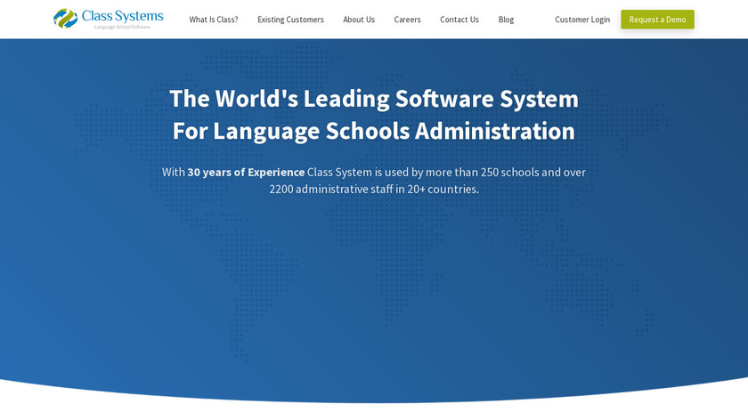 Class Landing Page