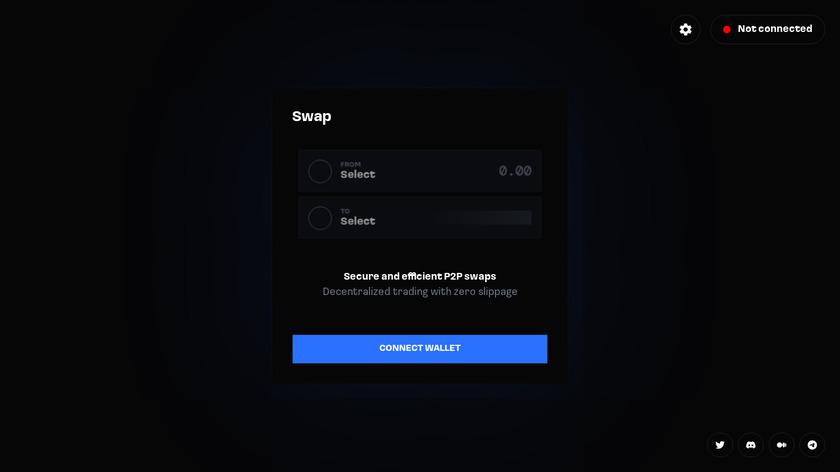 AirSwap Landing Page