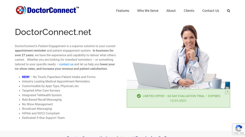 DoctorConnect Landing Page