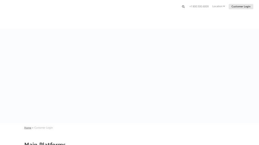 Teletrac Navman DIRECTOR Landing Page