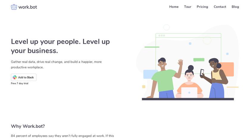 Work.bot Landing Page