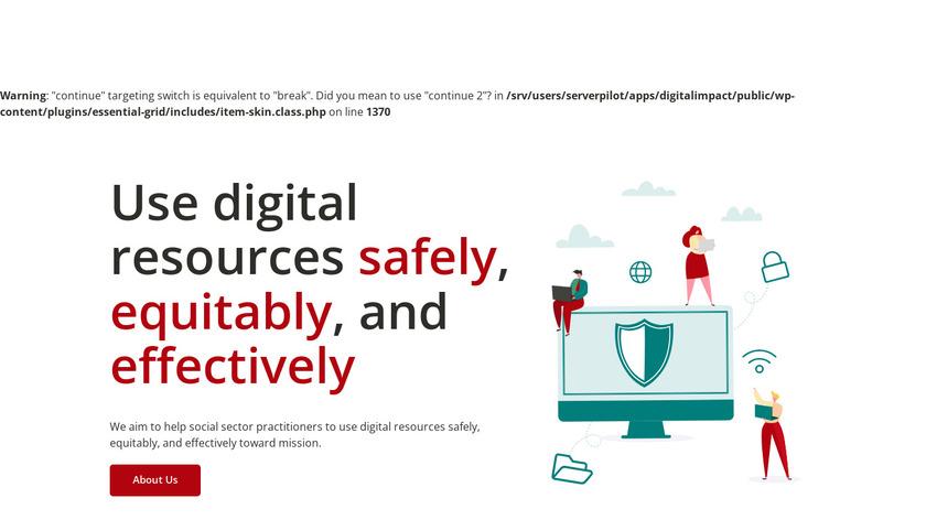 Digital Impact Landing Page