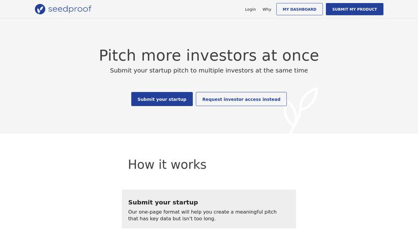 Seedpitch Landing Page