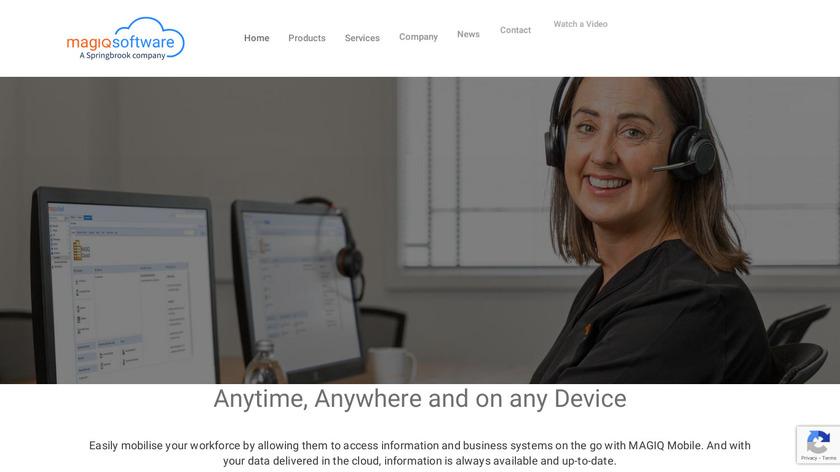 MAGIQ Landing Page