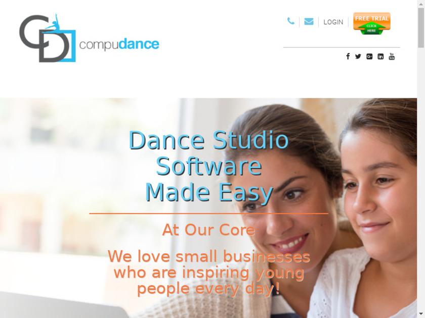 CompuDance Landing Page