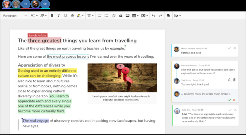 CKEditor Landing Page