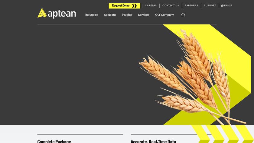 bcFood Landing Page