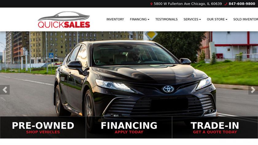 Quick Sales Landing Page