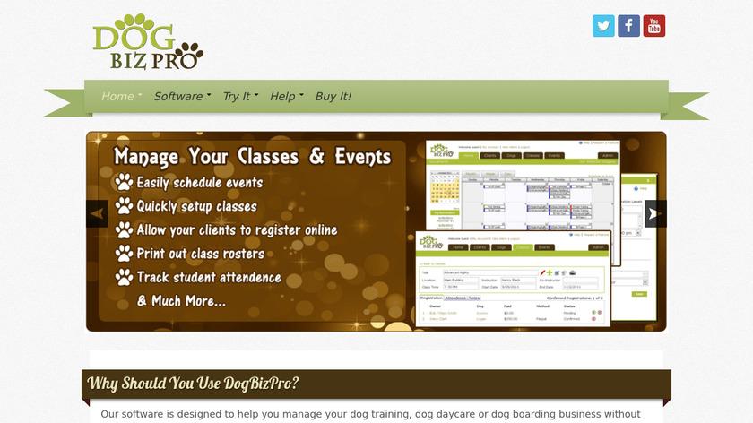 DogBizPro Landing Page
