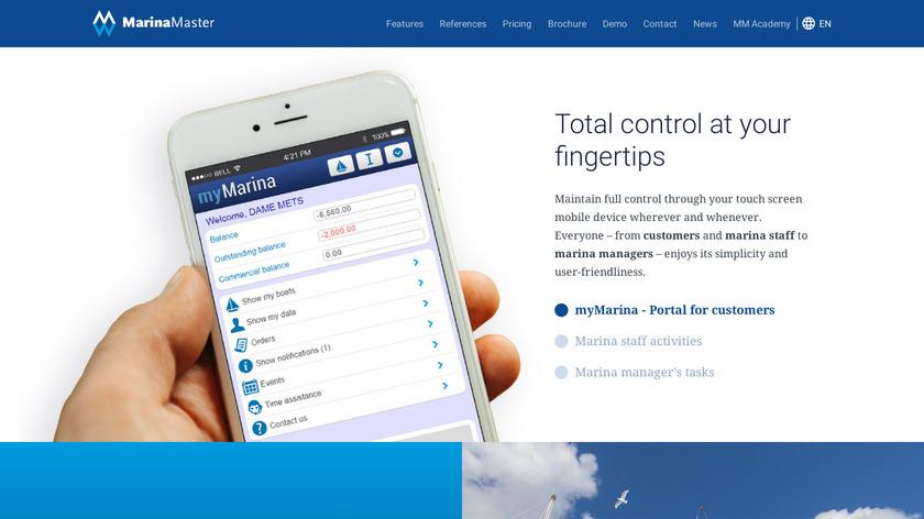 Marina Master Landing Page