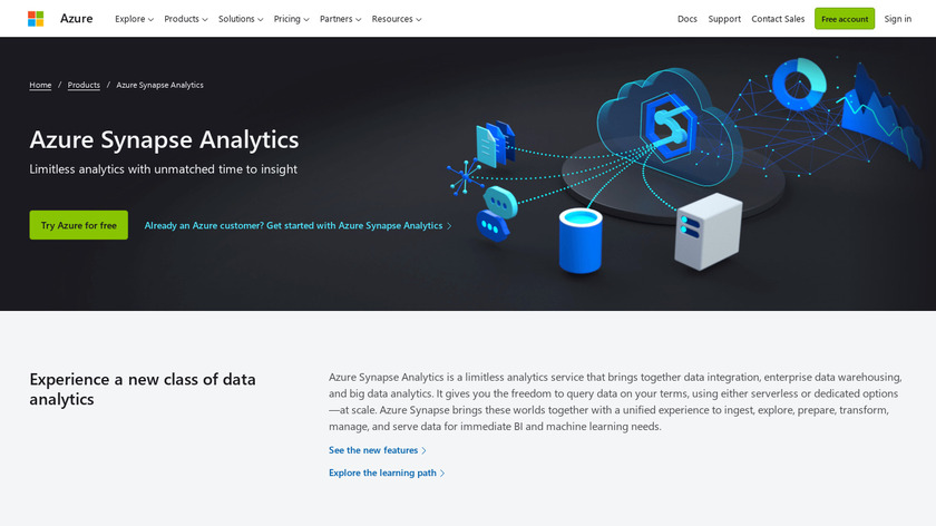 SQL Data Warehouse Landing Page