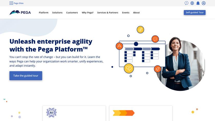 Pega Platform Landing Page