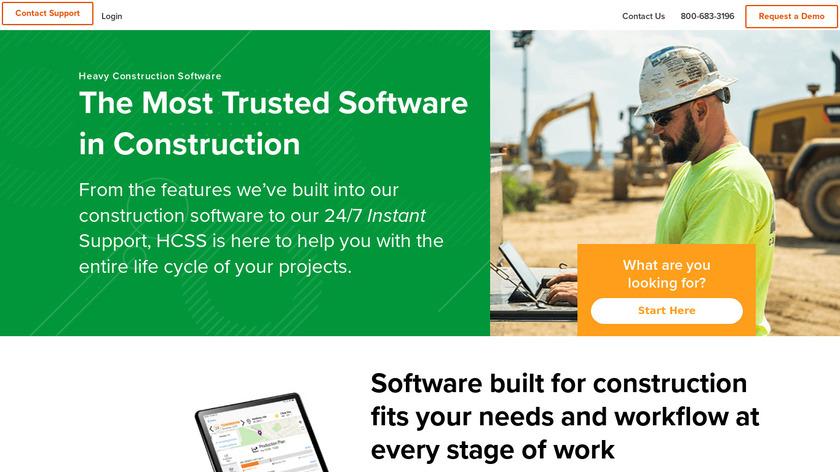 HCSS Landing Page
