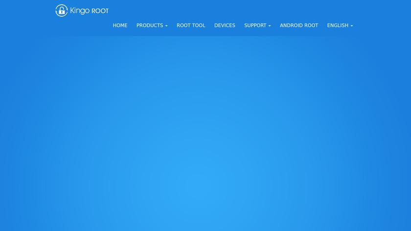 Kingo Root Landing Page