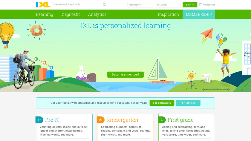 eStudio Landing Page