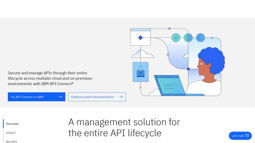 IBM API Management Landing Page