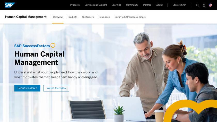 SAP SuccessFactors Landing Page
