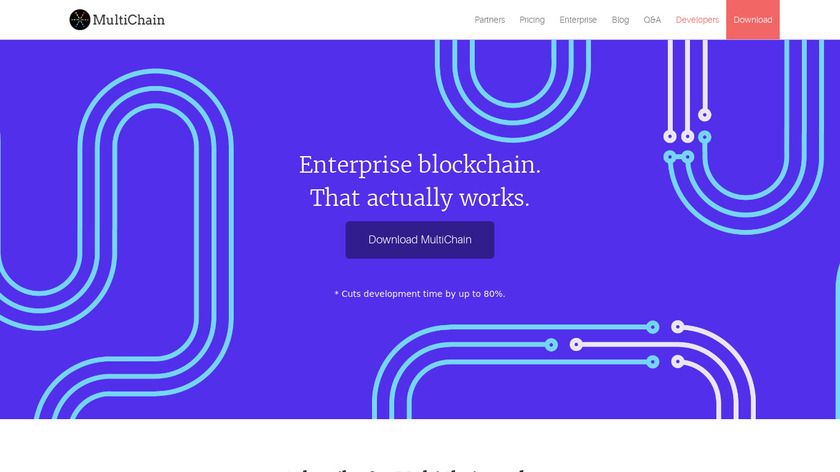 MultiChain Landing Page