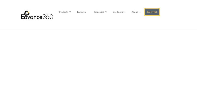 Edvance360 Landing Page