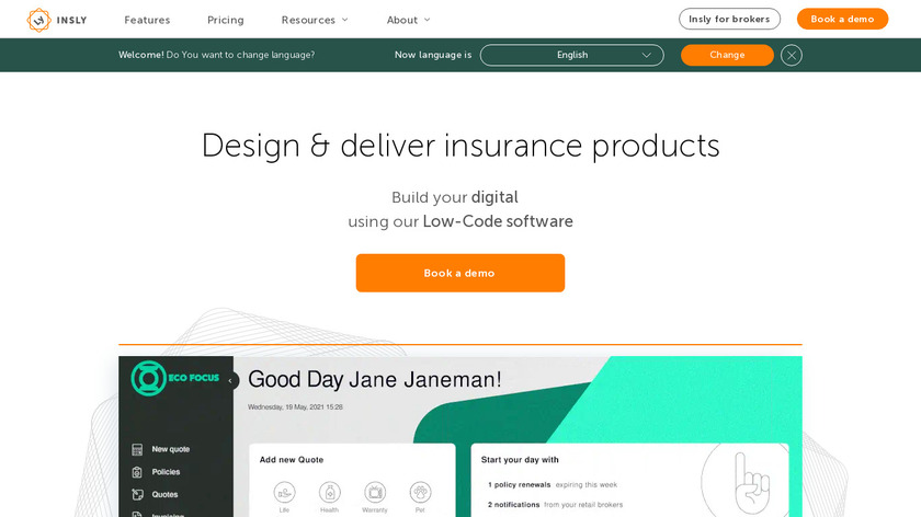 insly.com Landing Page