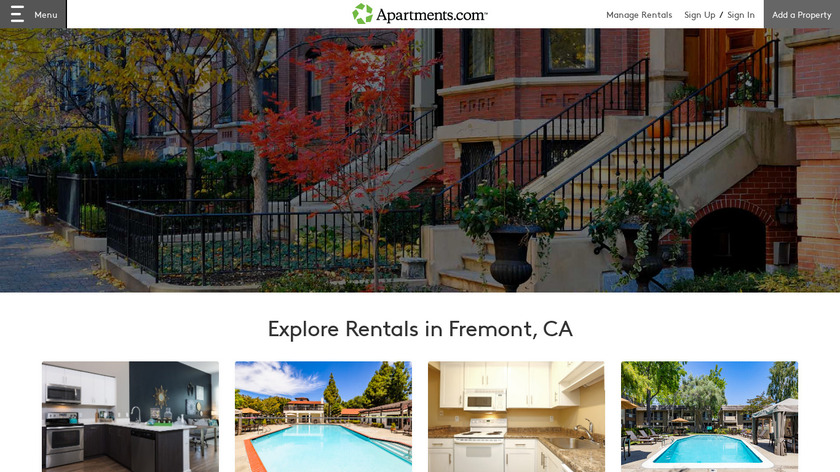 Apartments.com Landing Page
