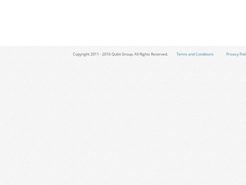 Qubit Opentag Landing Page