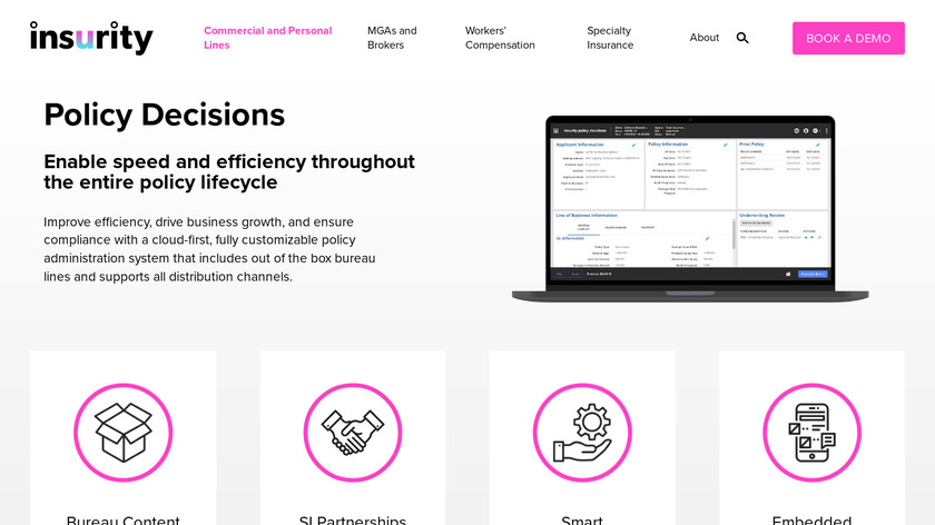 Policy Decisions Landing Page