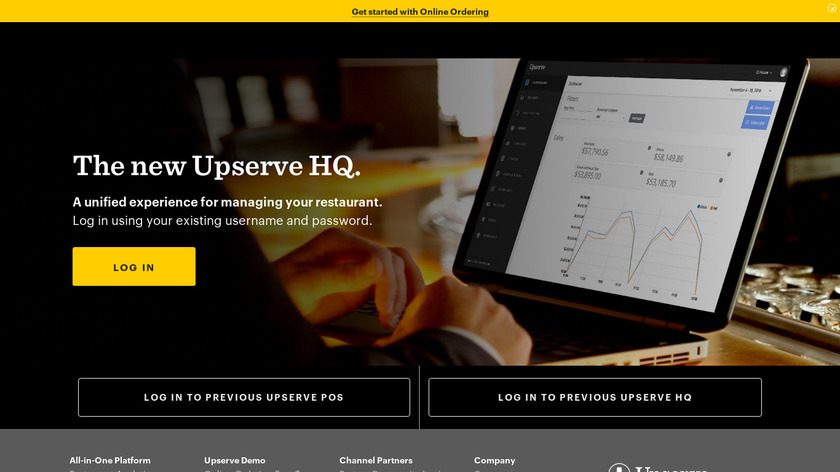 Breadcrumb POS by Upserve Landing Page