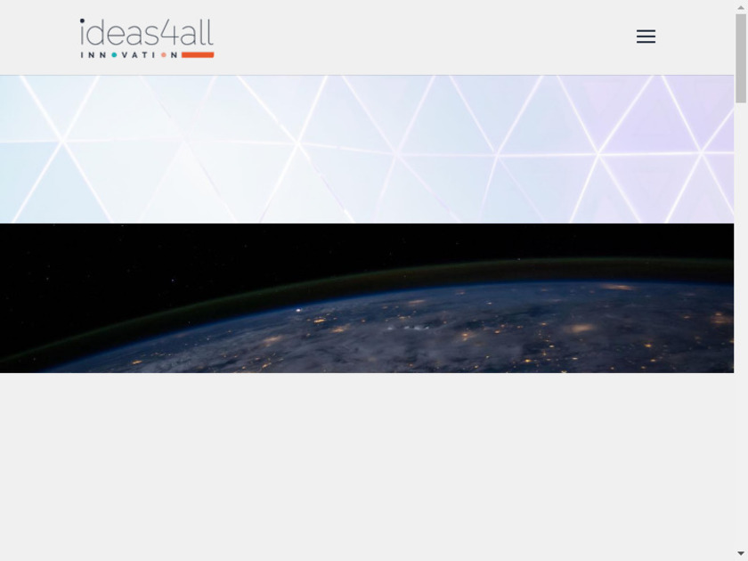Innovation Agora Landing Page