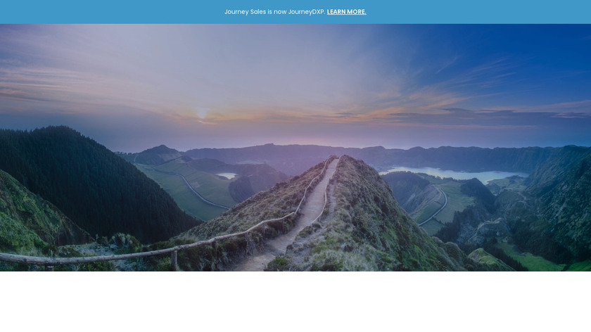 Journey Sales Landing Page