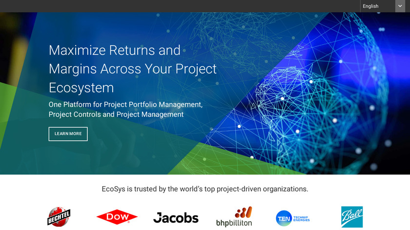 EcoSys Landing Page