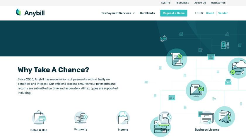 Anybill Landing Page