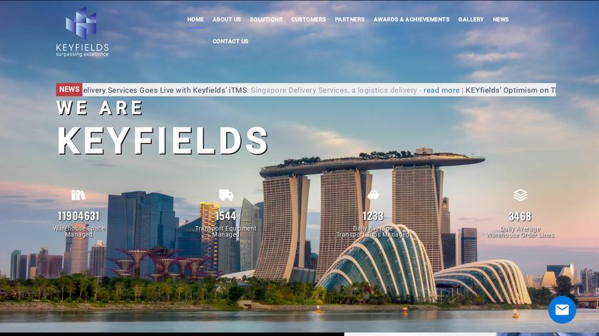 iWMS.net Landing Page