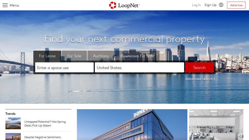 LoopNet Landing Page