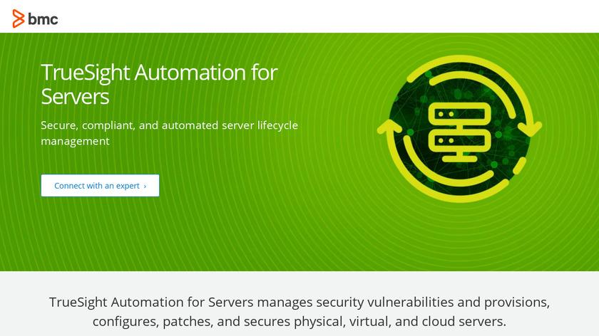 TrueSight Server Automation Landing Page