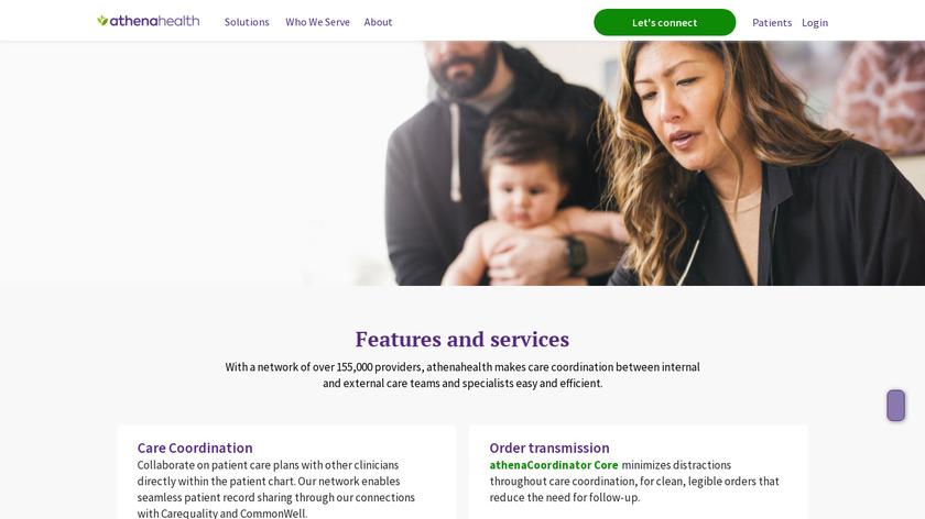 athenaCoordinator Landing Page