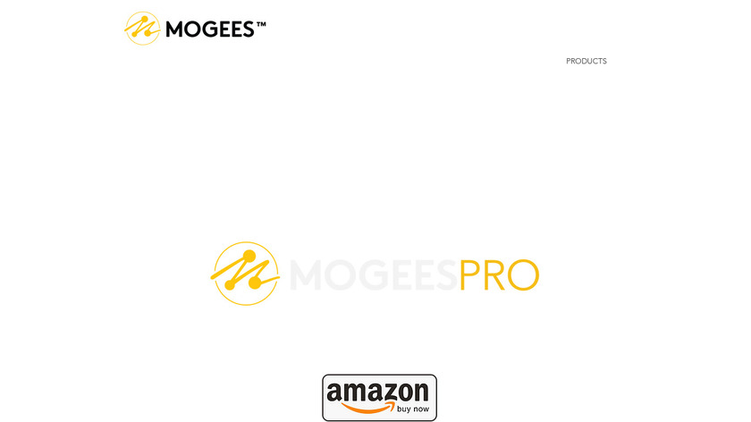Mogees Landing Page