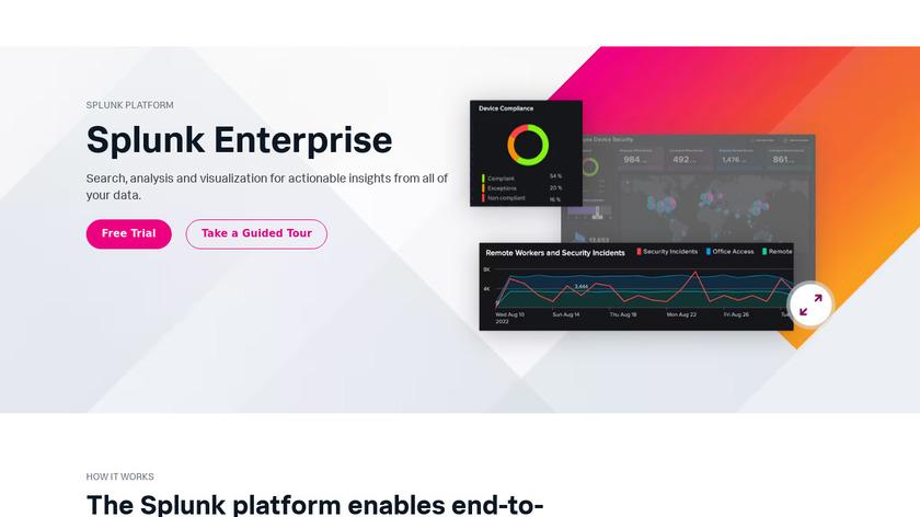 Splunk Enterprise Landing Page