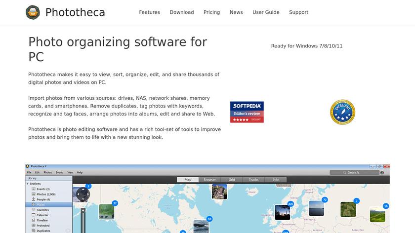 Phototheca Landing Page