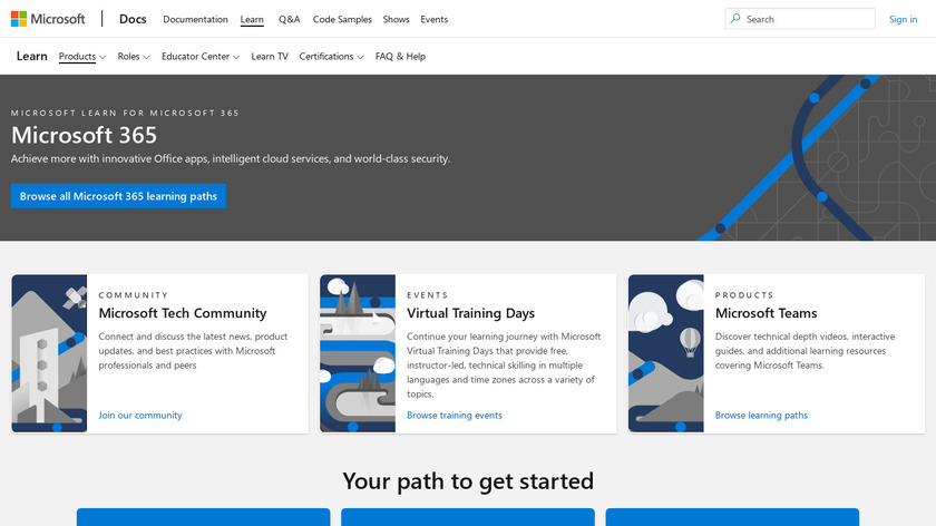 Power BI For Office 365 Landing Page