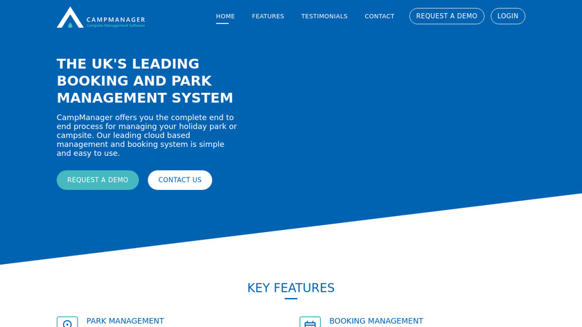 CampManager Landing Page