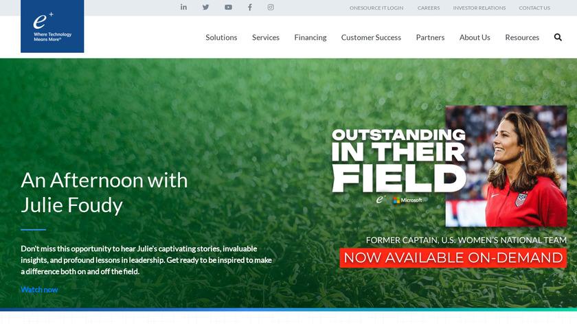 ePlus Landing Page