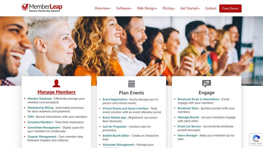 MemberLeap Landing Page