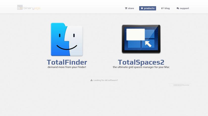 TotalTerminal Landing Page
